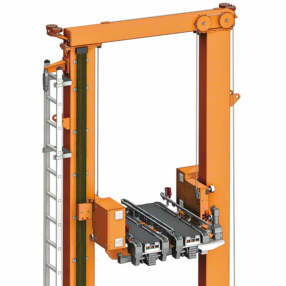 Stacker Cranes For Boxes Automated Warehouses For Boxes