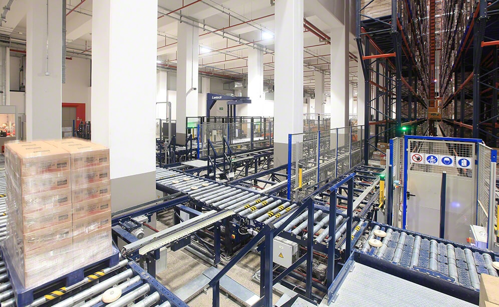 Automated warehouse for Tadım's dried fruits and nuts in Turkey