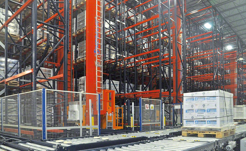 Next Generation Films: Automated warehousing for a large variety of products