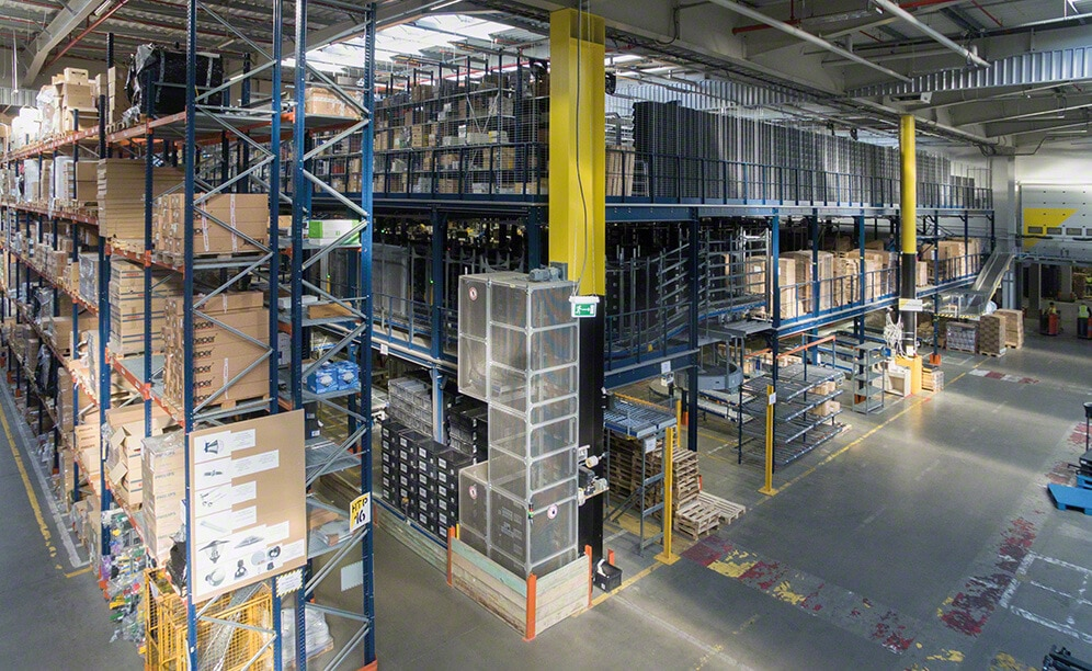 With a 35,000 pallet capacity, the logistics centre of the 3LP service operator and distributor becomes one of the largest, most efficient in Poland