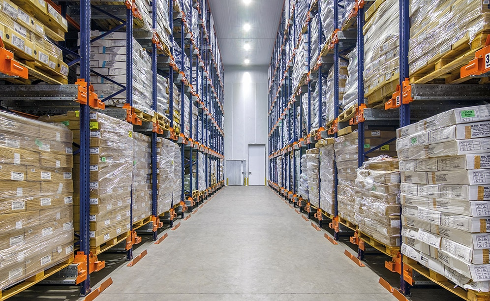 The cold-storage warehouse of Frío Dock in Tortuguitas (Argentina)