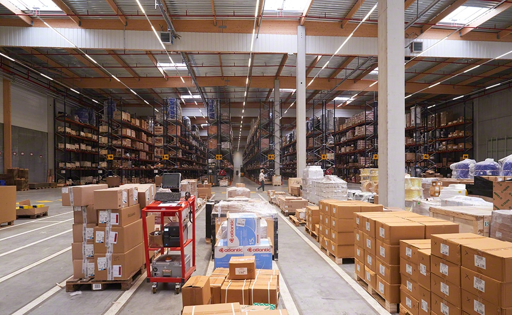 Solutions for the industrial parts warehouse of Sofinther
