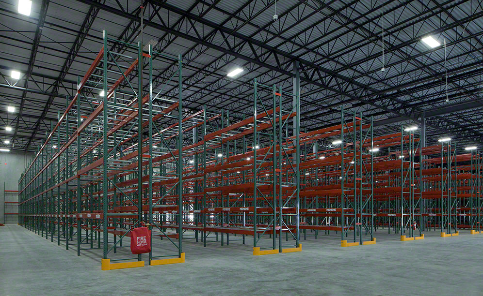 Interlake Mecalux installs live racking to optimise space
