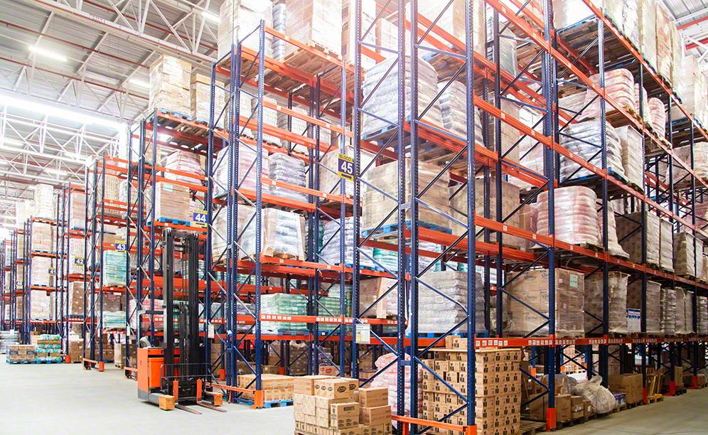 The pallet racks from Mecalux are 9 m high