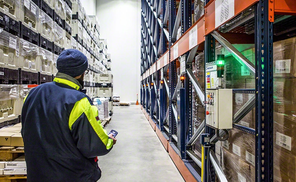 Movirack mobile pallet racks reduce energy consumption needed to generate cold