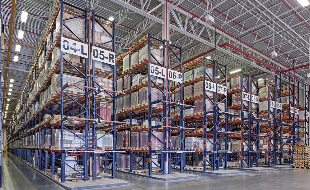 The new Porcelanosa warehouse in the United States