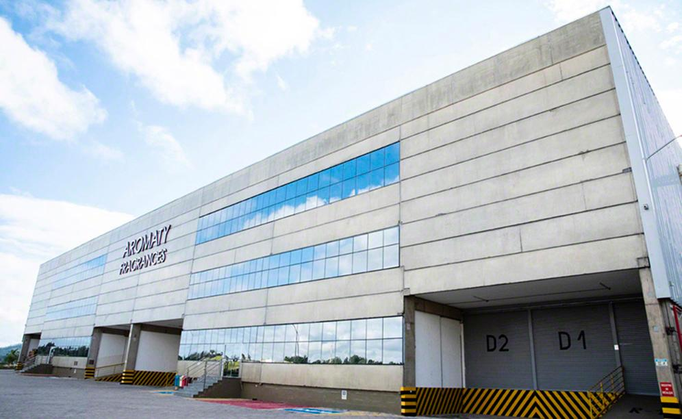 The Aromaty Fragrances raw materials warehouse in Brazil