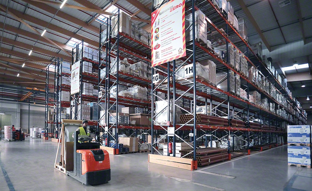 The Sectored Warehouses Of Saint Gobain Mecalux Com