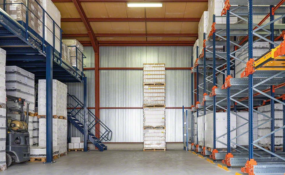 Mecalux equips the warehouse of French wine maker Vignerons de Tautavel