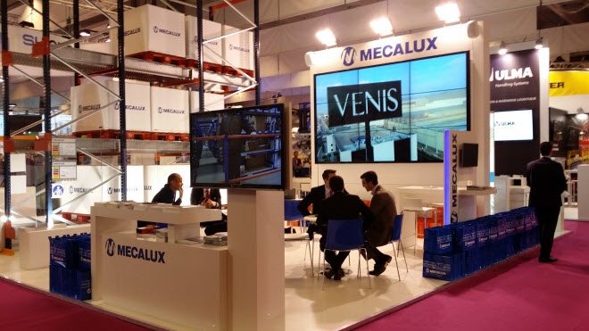 Mecalux stand