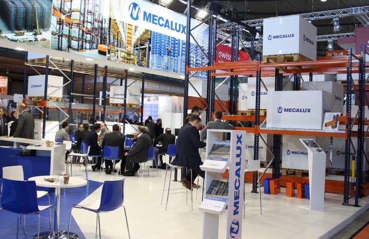 Mecalux stand Logimat 2015