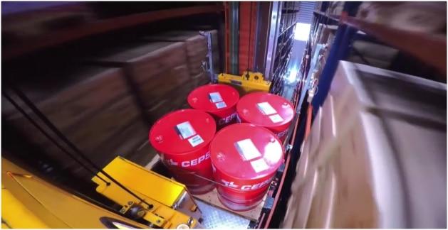 Case study automated warehouse: Cepsa