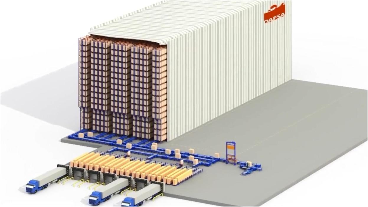 Case studies automated warehouse: Dafsa