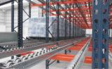 Mecalux's live racking in MIYM's warehouses in Mexico