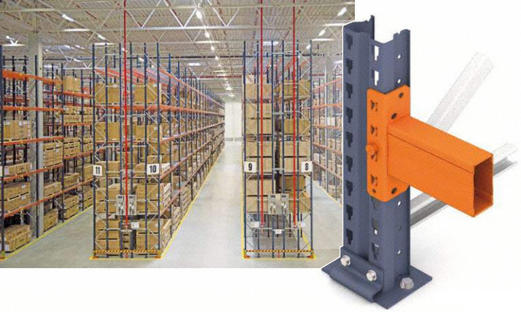 How to calculate a conventional pallet rack structure Calculating storage requirements