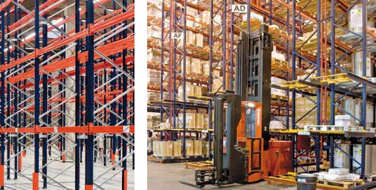How to calculate a conventional pallet rack structure - Mecalux com