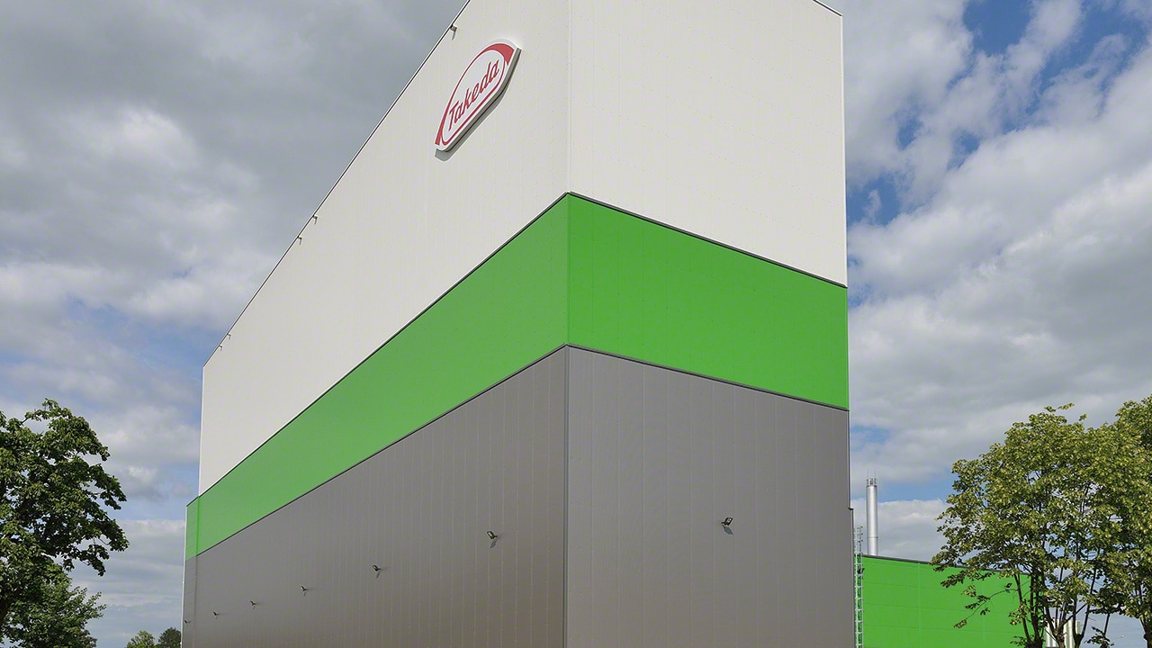 Case study Clad-rack warehouses: Takeda