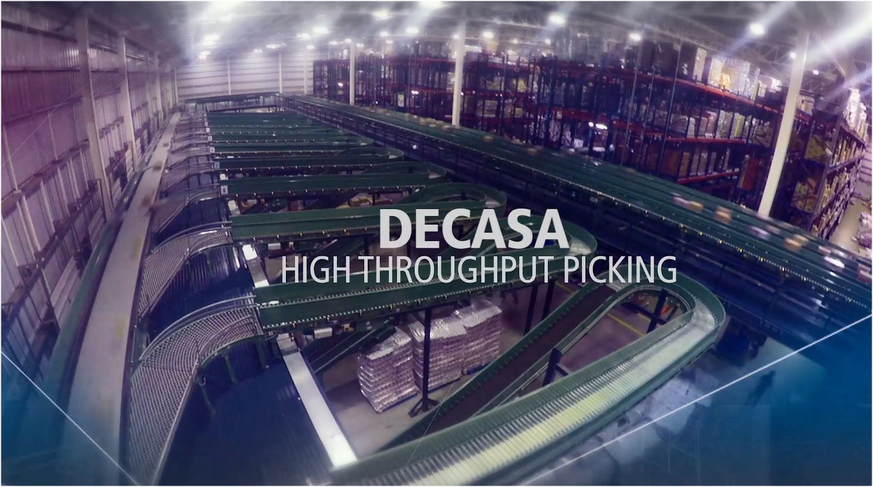 DECASA - High throughput picking and storage