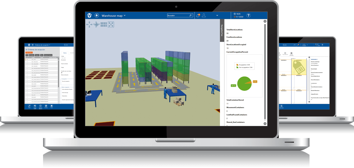 Warehouse Management System | Easy WMS - Mecalux com