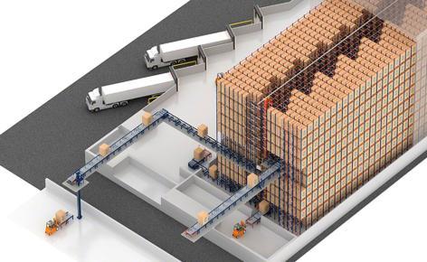 AlzChem will build an automatic Pallet Shuttle run warehouse
