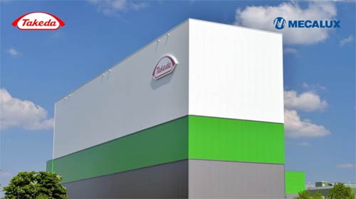 Case study Clad-rack warehouses: Takeda