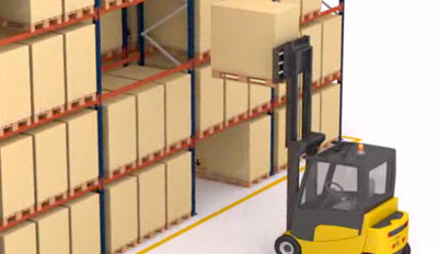 Operation of the Selective Pallet Rack