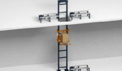 Lifting pallets to different heights