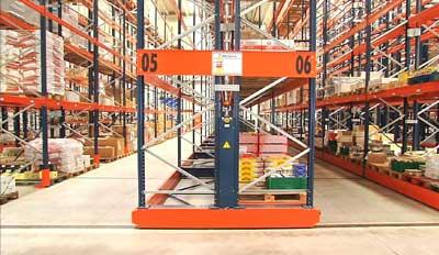 Havi Logistics finds the Movirack system to be the perfect solution to increase their capacity
