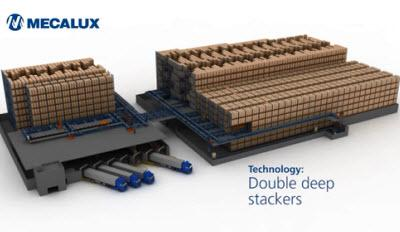 Double-deep stacker cranes: the perfect balance between capacity and handling