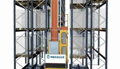 Simple cycle storage stacker cranes for pallets