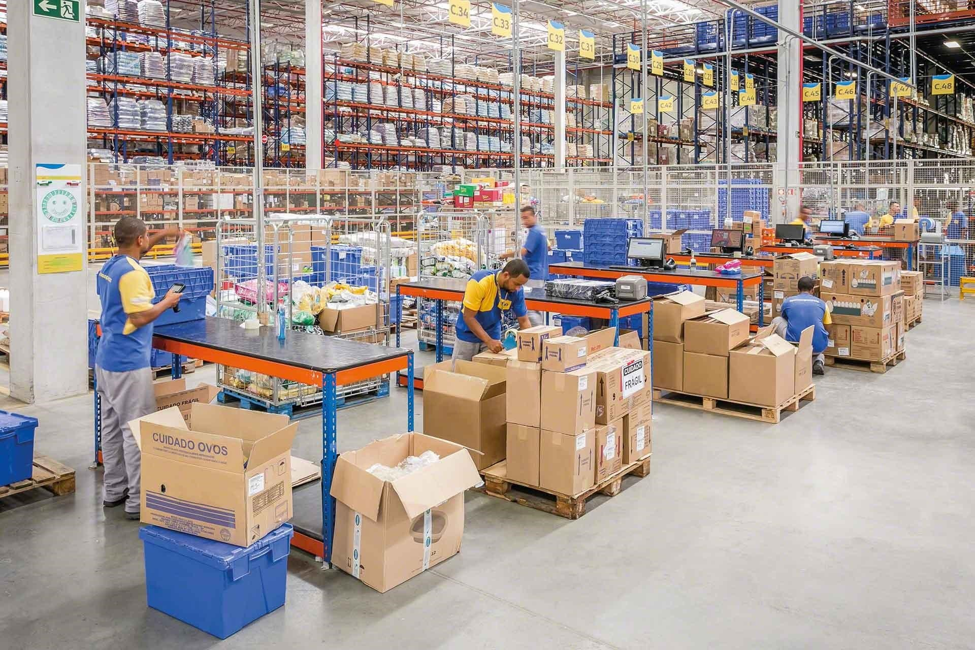 How do you plan logistical operations in peak season?