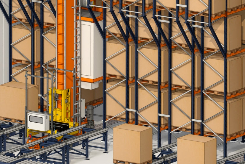 Industrias Yuk will build automated warehouses for pallets, boxes  in Valencia