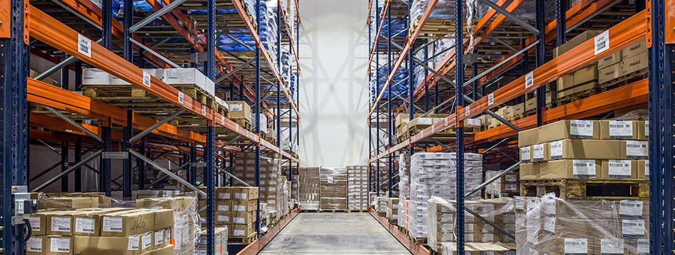 Frigorifiques Charité: Movirack mobile pallet racks in a frozen storage unit