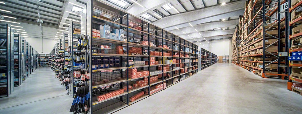 The bilstein group's automotive spare parts warehouse in Portugal