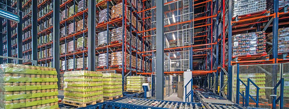 Efficient management of canned vegetables from Cistér with a new warehouse