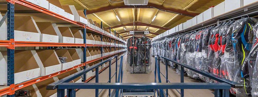 Efficiency in Motocard's omnichannel warehouse in Spain
