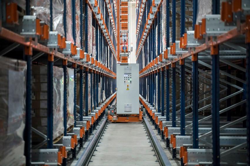 Finieco's new automated warehouse in Porto