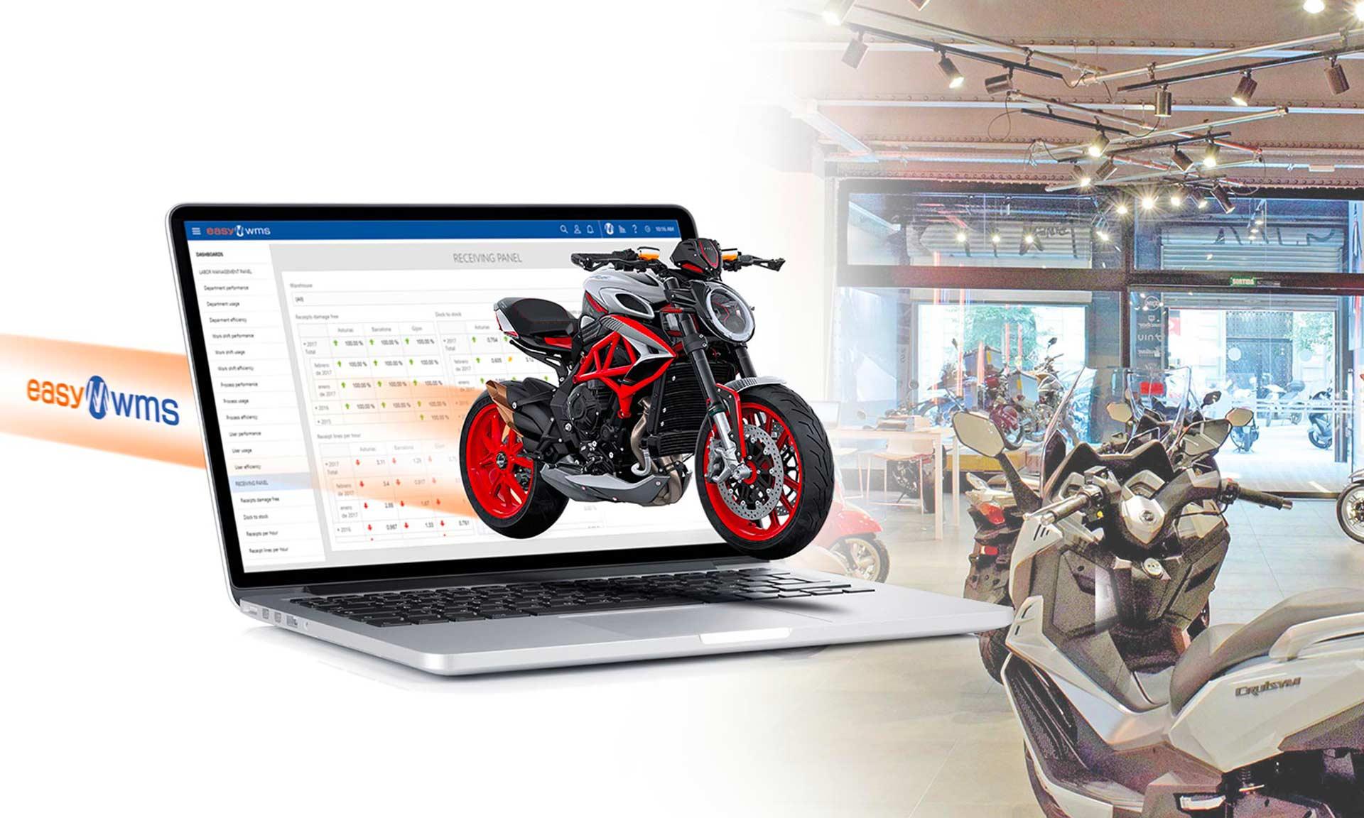 Motos Bordoy: logistics at full throttle