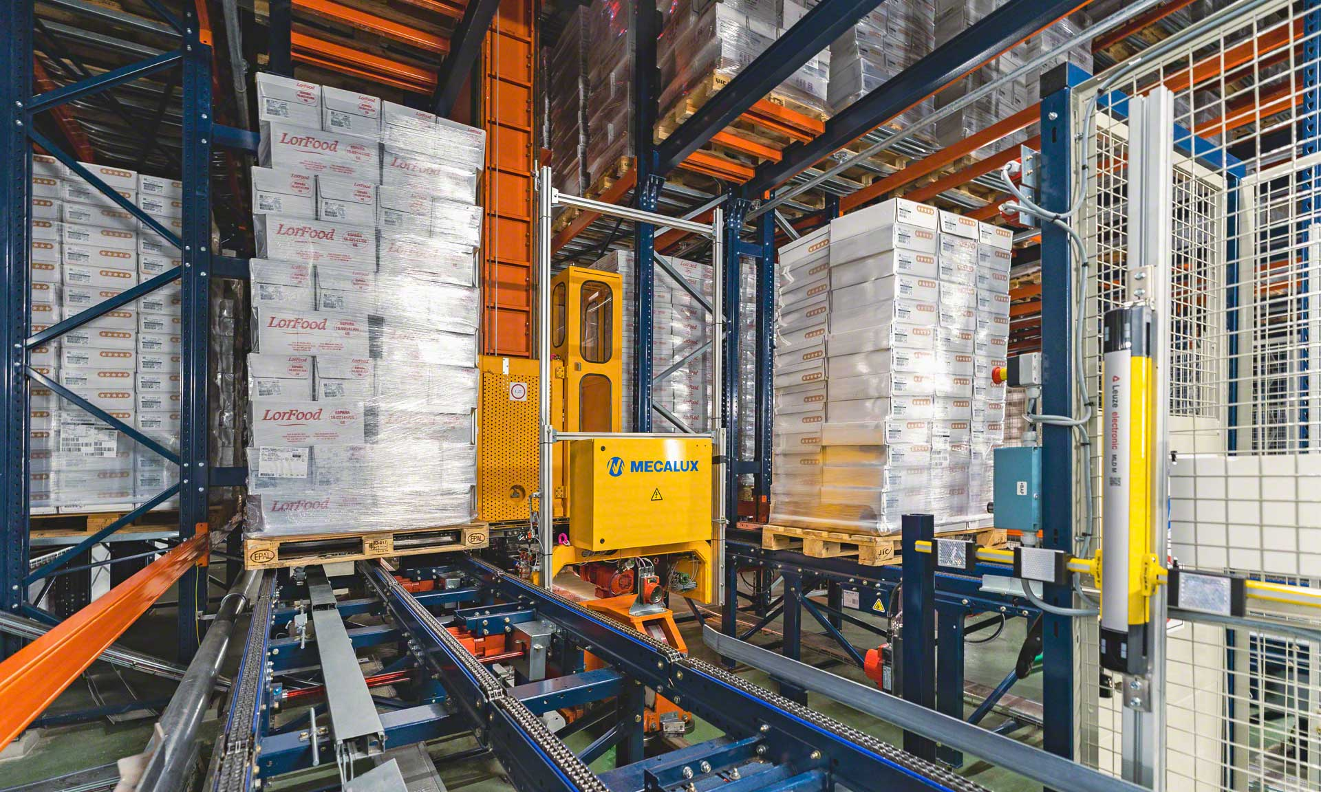 Logistics at low temps: comprehensive solution in six warehouses