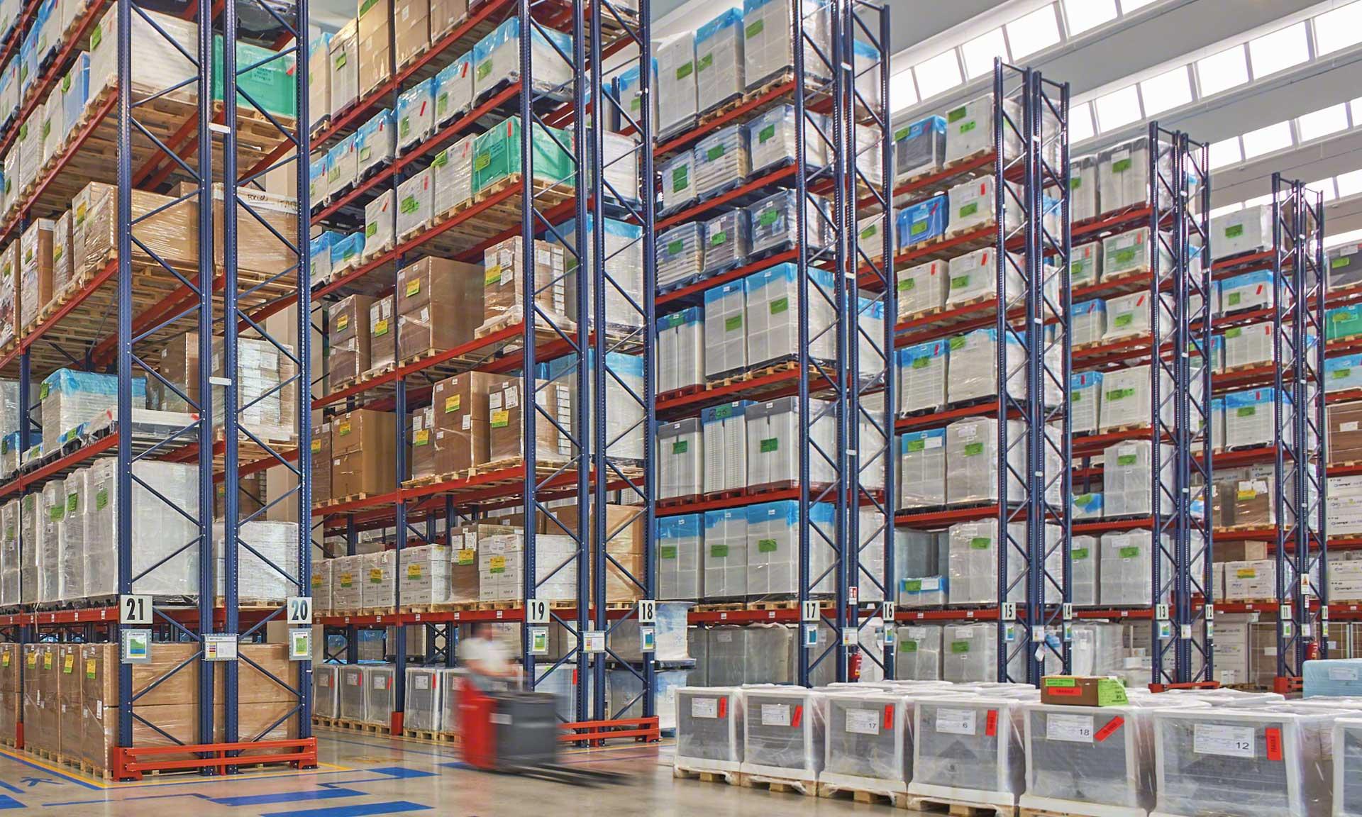 Chigiatto Transporti: medical supply storage