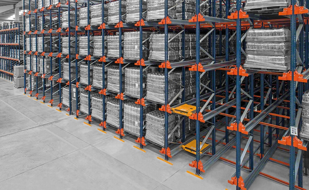 Pallet Shuttle: capacity and productivity