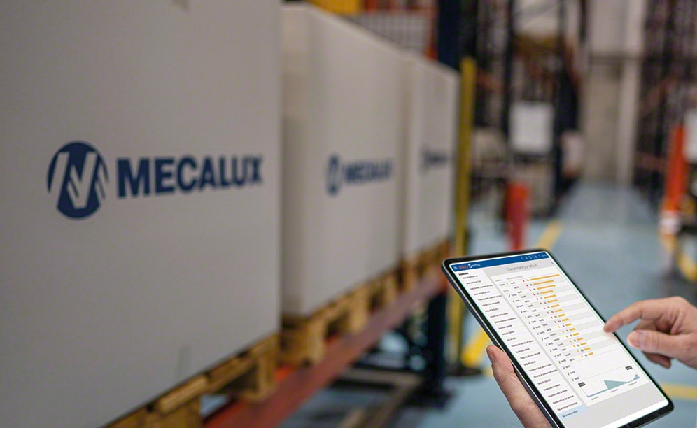 Easy WMS optimises the management of product flows to and from the warehouse