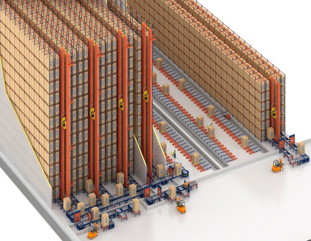 Copacol will have two warehouses, one for frozen products and the other for refrigerated products