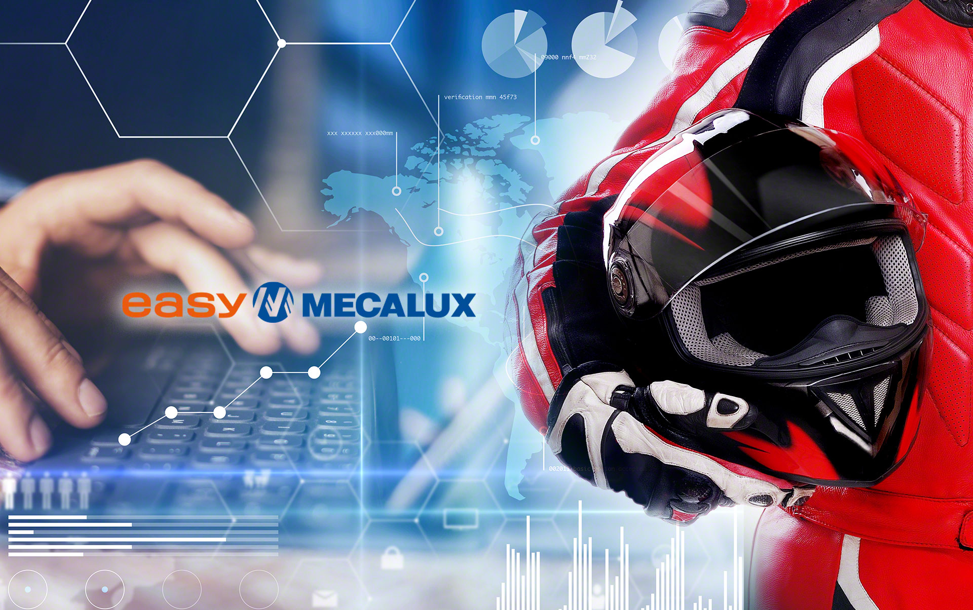 Easy WMS connected to the Sage 200c ERP system at the LS2 Helmets warehouse