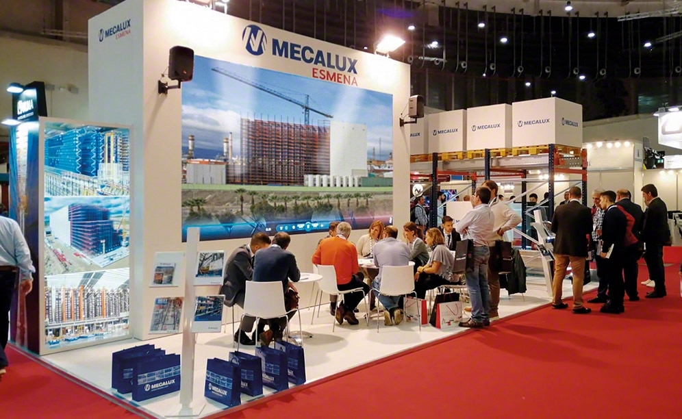 Mecalux presents its latest innovations at Logistics & Distribution Madrid 2018