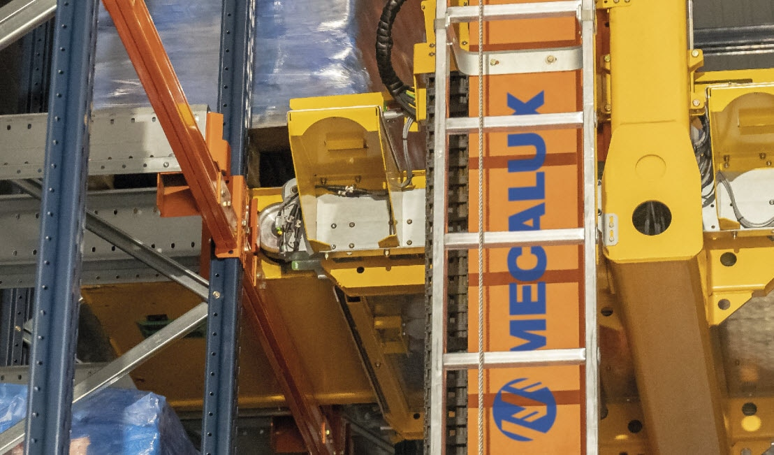 Minoterie Planchot will install an automatic Pallet Shuttle with stacker crane