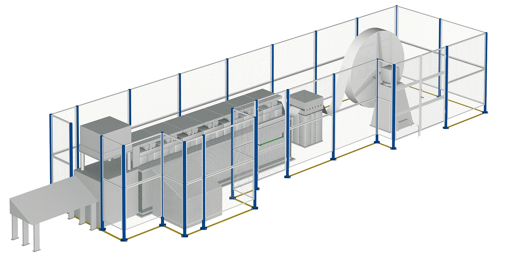 Wire Mesh Partitions & Cages