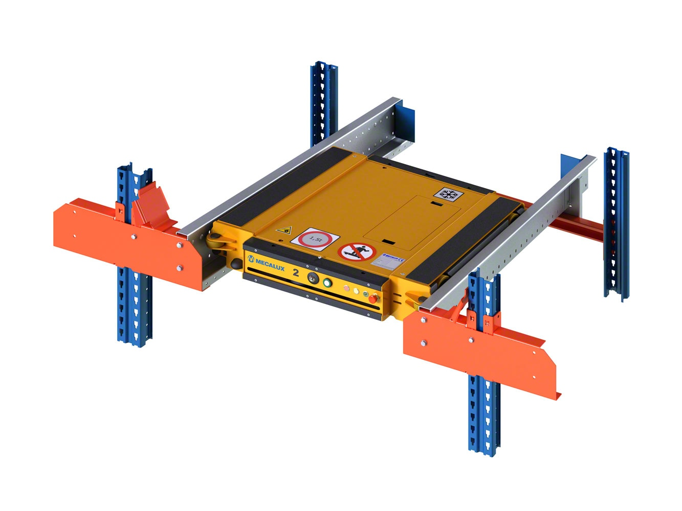 Specific structural components for the Pallet Shuttle system