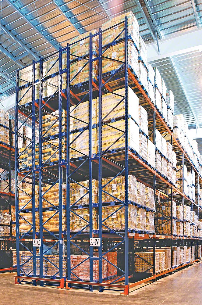 Conventional Pallet Racking Pallet Racking Www Mecalux Com