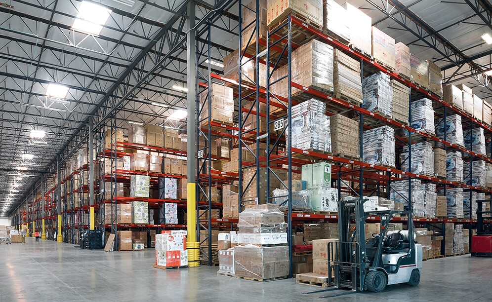 Delta Children equipped its warehouse with pallet racking from Interlake Mecalux
